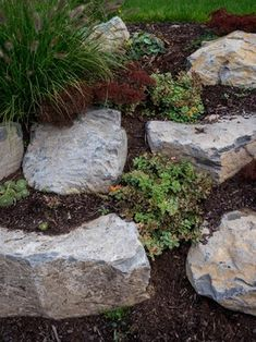 boulder retaining wall 32752 boulder retaining wall home design photos - Garden Home Designs