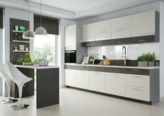 V kuchyni trávíme mnoho času, ať už vařením, stolováním či posezením s přáteli. Proto její výběr nepodceňujte, naopak vyberte si takovou, která vám bude... Kitchen Cabinets, Furniture, Fresh, Design, Home Decor, Kitchens, Kitchen Cupboards, Homemade Home Decor, Home Furnishings