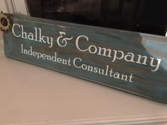 We are chalky and company independent consultants #chalkychatters