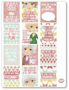 We've just added Golden Girls Full... to the shop! Check it out at http://www.plannerpenny.com/products/golden-girls-full-boxes-pdf-printable-planner-stickers