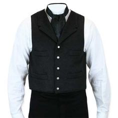 Madrona Vest - Heather Black