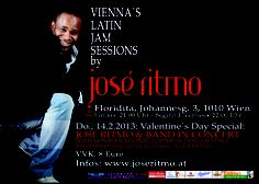 """win!  1 cd """"sueño"""" from """"Andy Montañez"""" and 1 x 2 tickets for """"vienna's latin jam sessions by José Ritmo"""" (14th of february @floridita/Vienna! send e-mail with """"i want to win the Andy Montañez cd"""" or """"i want to win 2 tickets for vienna's latin jam sessions by José Ritmo on 14th of february"""" to win@salsaclub.fm  terms and conditions:  -end of participation: 10.02.2013  -the winner will be informed by e-mail  -no cash alternative available  -recourses to the courts are excluded"""