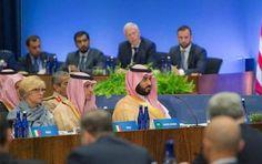 ولي ولي العهد يرأس وفد المملكة في اجتماعات التحالف الدولي ضد داعش PAR LA GRACE D'ALLAH ET GRACE AU PRINCE MOHAMED BEN SELMENE QU'ILS SONT A  GENOUX EDDAWA'ICHE SAHAYENA !