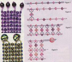 схема плетения широкого браслета