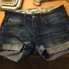 SALE!Joes cuffed denim shorts! GREAT condition Joe's denim cuffed shorts! Joe's Jeans Shorts Jean Shorts