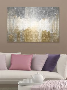 Amantes (Framed Canvas) from Art for the Minimalist on Gilt