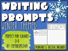 Learning Tools, Learning Resources, Teacher Resources, Writing Prompts For Kids, Writing Tips, Elementary Teacher, Upper Elementary, 6th Grade Activities, Teacher Freebies