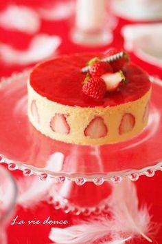 Gâteau de la fraise
