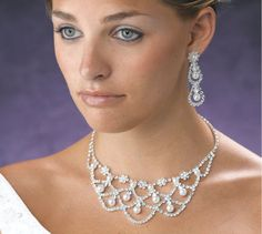 Bridal Jewelry Sets > From crystal to pearl bridal jewelry sets, our elegant yet affordable bridal jewelry will complete your wedding day look perfectly. Description from feredding.com. I searched for this on bing.com/images