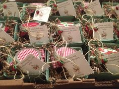 Favors at a Strawberry Bridal Shower #strawberry #bridalshower