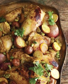 Moroccan Roasted Chicken from The Joy of Kosher