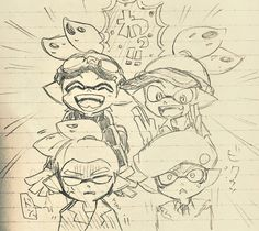 Splatoon Memes, Splatoon 2 Art, Chibi Characters, Manga Art, Cool Artwork, Love Art, Nintendo Switch, Sailor Moon, Steampunk
