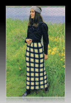 100 Unique Crochet Skirts. Vzory Na Sukně ... 7d021a7185