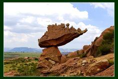 Roerklip/Moerklip on the Korannaberg, Ladybrand, Free State, South Africa Photo ~ Ossewa — 'Most Awesome Web Photos.