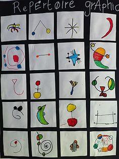 The art of nothing--Miro inspired art for kids Joan Miro, Artists For Kids, Art For Kids, Art Postal, Artist Project, 2nd Grade Art, Ecole Art, Mobile Art, Art Curriculum