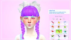"pastel-sims: "" ♡ Little Trait Found under 'lifestyle.' This trait is based off of dd/lg & dd/lb blogs. If this type of thing bothers you, please carry on with your day. :) (Working on the Big trait.)..."