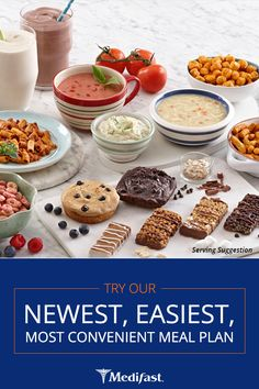 Medifast provides quick, safe, and steady weight loss with more food choices and flexibility than ever before! Find the most convenient weight loss plan for you!
