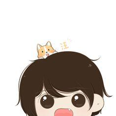 Love Cartoon Couple, Chibi Couple, Cute Love Cartoons, Cute Cartoon, Cute Couple Wallpaper, Love Wallpaper, Anime Couples, Cute Couples, Lockscreen Couple