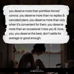 You deserve More Than Pointless Forced Convos - https://themindsjournal.com/deserve-pointless-forced-convos/ #Relationships