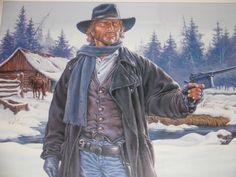 Durango - Offset Affiche door Swolfs  - Formaat : 60x50 - W.B.