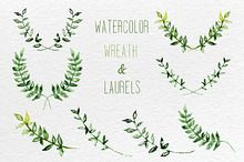 Wreaths and Laurels from Creative Market