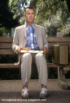 don't look into toffee (Nicolas Cage as Forest Gump - Stop.) lesbian pride