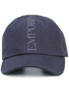 EMPORIO ARMANI logo print hat.  emporioarmani  hat 1af758a1d3b1