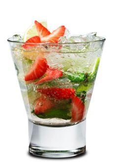 Summer Cocktail Strawberry Mojito