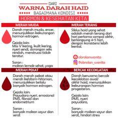 Warna darah haid yang sehat, bisa kita lihat dari siklus haid kita tiap bulannya. Dari siklus haid dapat kita ketahui banyak tentang keseimbangan hormon dan kesehatan kita, dengan melihat warna darah haid kita.