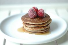 PERFECT BANANA & OATS PANCAKES