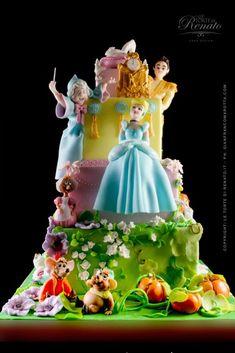 Cinderella cake #amazing #cake