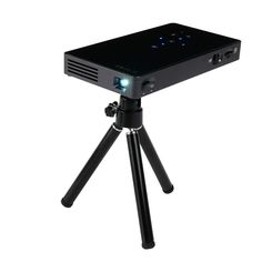 UEEVII P8I Mini Pocket 1080P DLP Projector HDMI IN Dual WIFI Automatic Keystone Correction 1000:1