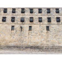 #pattern #Windows #Santiago #monastery