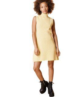 http://www.trashmonkey.com.au/womens/unif-echo-dress-in-yellow-white/