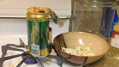 空き缶でポップコーンマシーンをアップサイクルDIY!