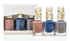 Pacifica 7 Free Nail Polish Set - Blue $21.50 - from Well.ca