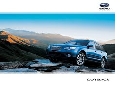 My goes anywhere, does anything adventure partner...Subaru outback
