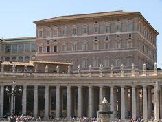 Apostolic Palace, Vatican City, Rome, Italy (2304×1728)