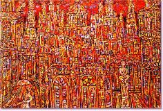Rene Portocarrero, my favorite painting of all times... very impressive. If anyone knows where I can see it again... let me know!
