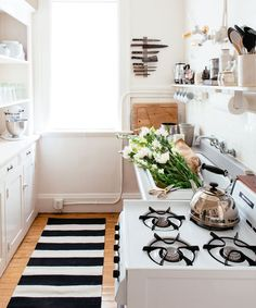 6 Swoon-Worthy Small Kitchens #refinery29  http://www.refinery29.uk/small-kitchen-ideas-interiors-tiles