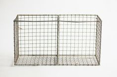 Vintage Wire Kitchen Rack - 55cm x 29cm x 21cm | The Foodie Bugle Shop