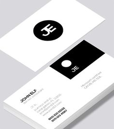 Modern contemporary business card design -Dot Net Consultant business card