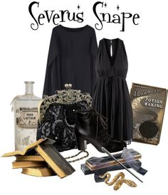 """Severus Snape"" by captainku on Polyvore"