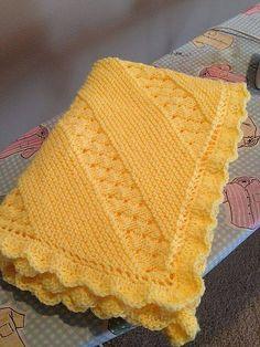 Ravelry: craftsprojects' Treasured Heirloom Baby Blanket