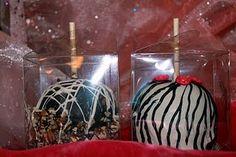 the zebra candy apple is a bit sassy!