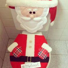 Jogo de banheiro natalino by Melsoart.