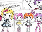 Lalaloopsy printable coloring sheets and games to play. Projects and crafts all Lalaloopsy!!