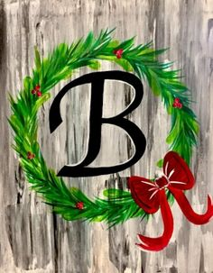 Find the perfect thing to do tonight by joining us for a Paint Nite in Loganville, GA, featuring fresh paintings to be enjoyed over even fresher cocktails! Canvas Painting Tutorials, Diy Painting, Painting Classes, Painting Canvas, Canvas Art, Christmas Art, Christmas Wreaths, Wine And Canvas, Mini Canvas