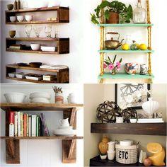 60 cheap diy wall shelves floating ideas (29)