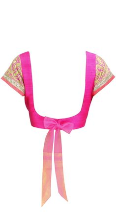 Saree Blouse Back with bow